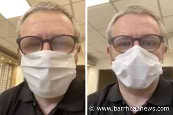 Three simple tips to stop glasses fogging while wearing face masks - Barrhead News