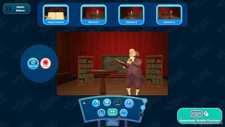 HistoryMaker VR Brings Educational Embodiment To A New Era In Schools