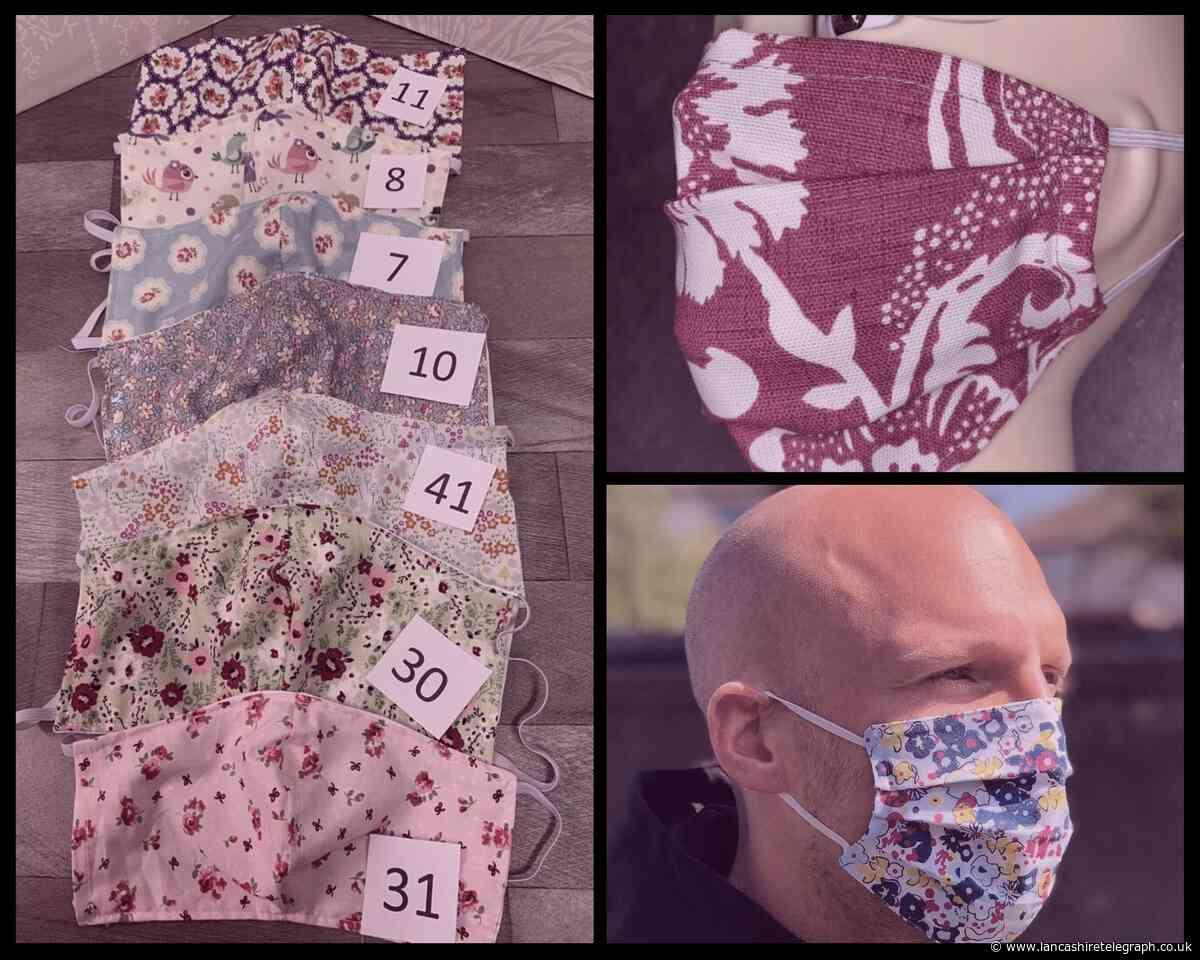 Face masks for sale in 5 Blackburn and East Lancashire Etsy shops