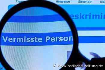 Polizei sucht weiterhin nach Vermissten aus Weil am Rhein - Weil am Rhein - Badische Zeitung