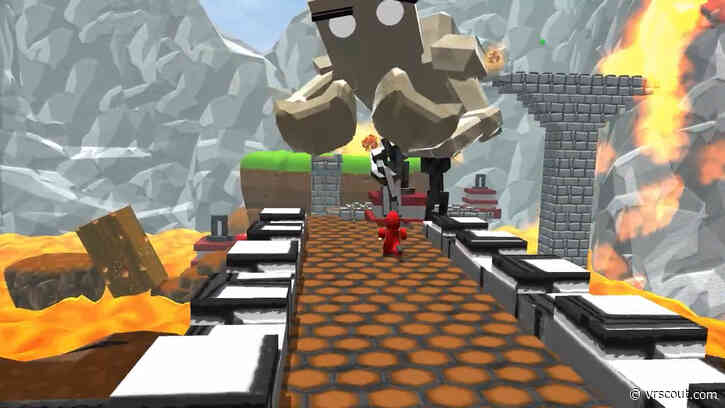 Asymmetrical Co-op Puzzle Platformer 'VR Giants' Heads To Kickstarter, Free Demo Available