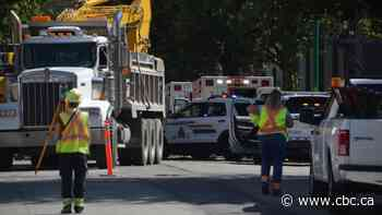 Man dies at Burnaby construction site