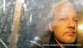'Assange Leaks' put WikiLeaks publisher on opposite side of data dump - Washington Times