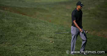 Tiger Woods Returns, Without Roars