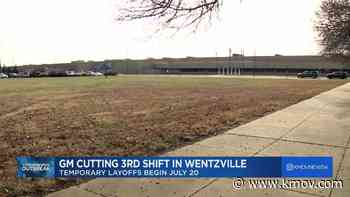 General Motors temporarily lays off third shift at Wentzville plant, company says - KMOV.com