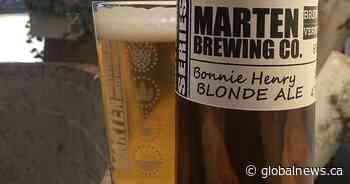 Okanagan brewpub names beer after of Dr. Bonnie Henry