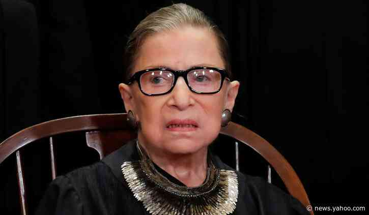 Justice Ginsburg Hospitalized with Possible Infection