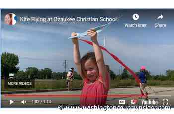 VIDEO   Kite Flying Day at Ozaukee Christian School - washingtoncountyinsider.com