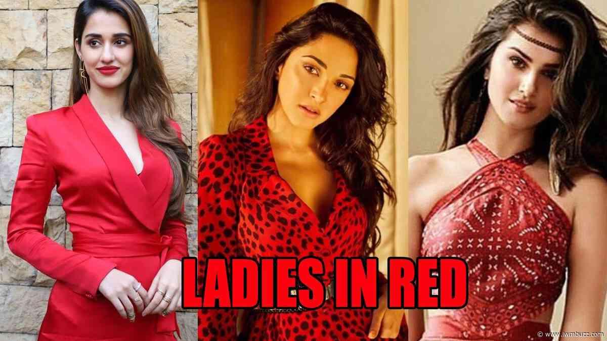 Ladies in Red: Disha Patani, Kiara Advani, Tara Sutaria Show Their LOVE For Red Outfits - IWMBuzz