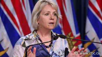 As Covid-19 cases tick upwards, Dr. Bonnie Henry urges B.C. not to let our sacrifices go to waste
