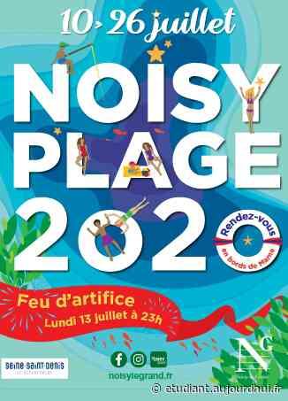 Feu d'artifice du 14 juillet à Noisy Le Grand - Le Parisien Etudiant