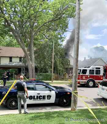Fire on Queen Street - The Sarnia Journal