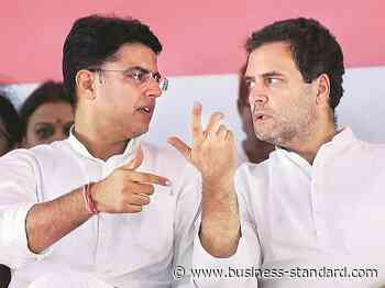Rajasthan crisis: Congress grounds Sachin Pilot; Cabinet meeting today - Business Standard