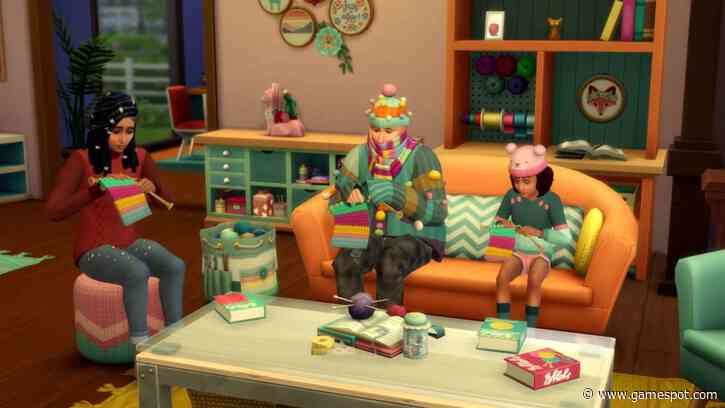 The Sims 4 Is Adding Knitting DLC So Your Sims Can Become Obsessed With Yarn