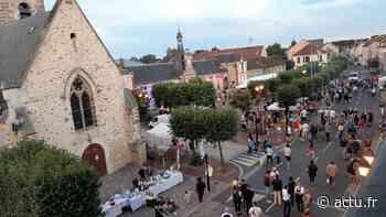 [Vidéo]Le Perray-en-Yvelines. Le premier marché nocturne dans l'esprit des fêtes du sud - actu.fr