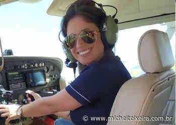 Primeira piloto de aviação da história de Campos Novos se formará em breve - Michel Teixeira