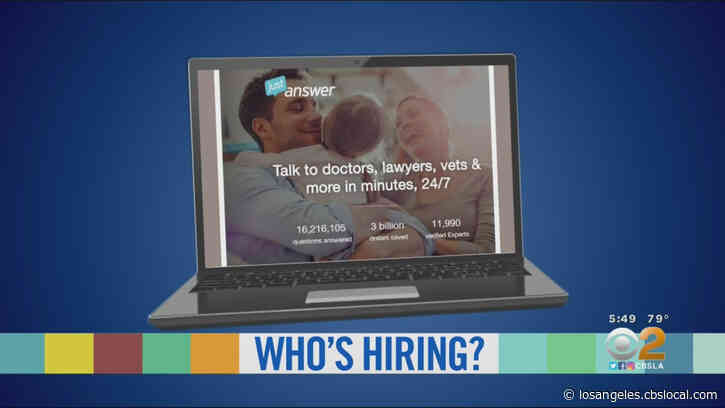 JustAnswer Looking To Hire Up To 1,000 Freelance Experts For Remote Work