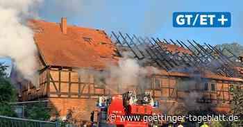 Feuer in Einbeck: Gebäude steht erneut in Flammen - Göttinger Tageblatt
