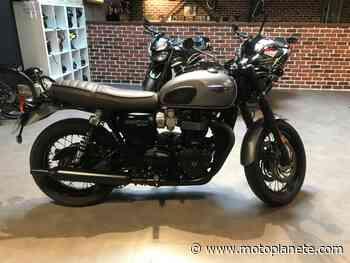Triumph Bonneville T120 Black 2016 à 9590€ sur LANESTER - Occasion - Motoplanete