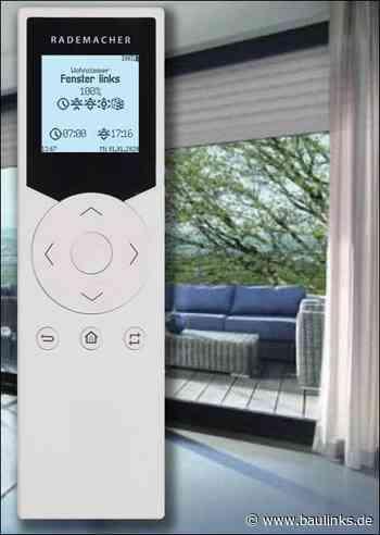 Smart Home-Handzentrale von Rademacher in neuem Look and Feel
