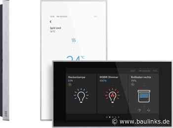 Elegante KNX-Raumsteuerung Busch-RoomTouch von Busch-Jaeger neu entwickelt