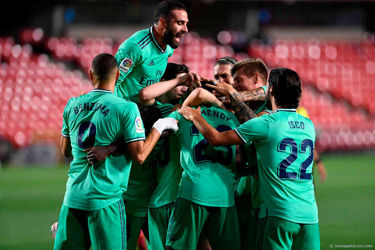 Real Madrid, a una victoria de ser campeón de España - CNN