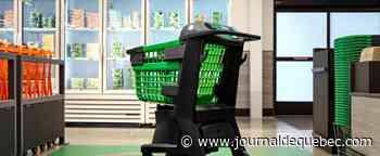 Amazon lance un chariot d'épicerie intelligent