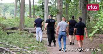 Sicherheitsdienst und ein Zaun: Keiner darf in den Waldsee - Echo Online