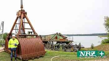Wesel: Abschied vom alten Kiesbagger am Diersfordter Waldsee - NRZ