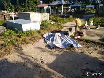 Dentro de cementerio de La Masica, Atlántida hallan ultimado a hombre - hch.tv