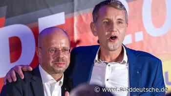 Protest gegen Auftritt von Höcke und Kalbitz angekündigt - Süddeutsche Zeitung