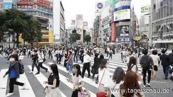 Liveblog: ++ Höchste Alarmstufe in Tokio ++