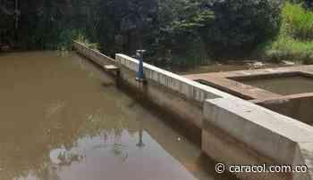 Lebrija en alerta por bajo nivel de agua en represas - Caracol Radio