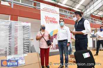 Reciben apoyos de Vende Más microempresarios de Zacapu - El Diario Visión