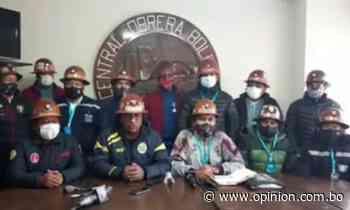 Mineros de Huanuni y Colquiri piden que se respete la fecha de las elecciones - Opinión Bolivia