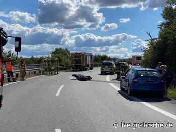 Motorradfahrer schwer verletzt | GZ Live - GZ Live