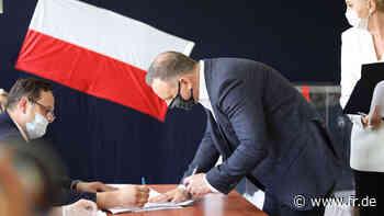 Präsidentenwahl in Polen: Wie eine Niederlage für Andrzej Duda - fr.de