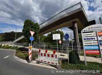 Generalsanierung der Konrad-Adenauer-Brücke: Auf der Zielgeraden - Siegener Zeitung