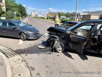 Zwei Verletzte nach Unfall in Heidenau - Radio Dresden