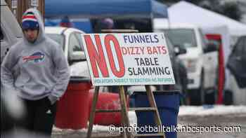 Officials wonder how or if Bills fans can safely tailgate