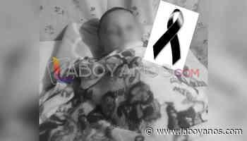 Erik Dulián, el pequeño que murió ahogado en una quebrada en Saladoblanco - Laboyanos.com