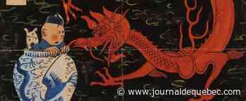 La couverture du «Lotus bleu» d'Hergé pour la première fois aux enchères