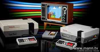 LEGO bringt Nintendo Entertainment System als Bau-Set inklusive Röhrenfernseher - MANN.TV