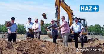 Sehnde: Bau des Feuerwehrhauses Haimar hat begonnen - Hannoversche Allgemeine