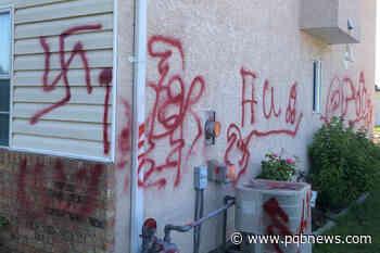 Windows broken, racist graffiti left on Okanagan home – Parksville Qualicum Beach News - Parksville Qualicum Beach News