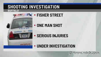 Man taken to ECMC after shooting on Fisher Street
