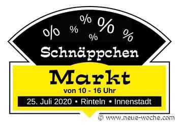 Häppchen- und Schnäppchen-Markt 2020 » Rinteln - neue Woche