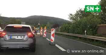 Arbeiten auf der B 238 bei Rinteln dauern bis Anfang August - Schaumburger Nachrichten