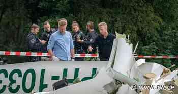 Flugzeugabsturz bei Haltern: Opfer sind wohl zwei junge Männer - Neue Westfälische