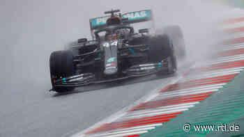 Qualifying zum Großen Preis der Steiermark: Formel-1-Regengott Lewis Hamilton spricht ein Machtwort - RTL Online